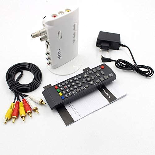 Redcolourful ISDB-T Digital Terrestrial Converter TV Box Receiver 1080P US Plug Electronics