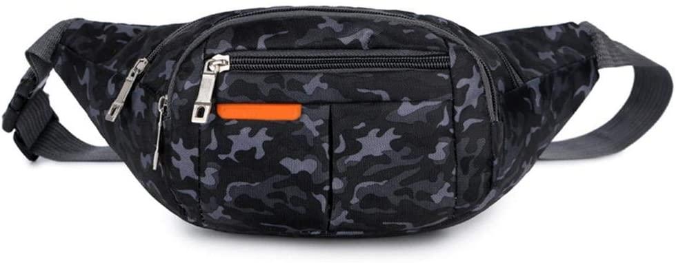 biliten Men Women Waterproof Waist Pack Bag with Adjustable Strap for Running Hiking Cycling