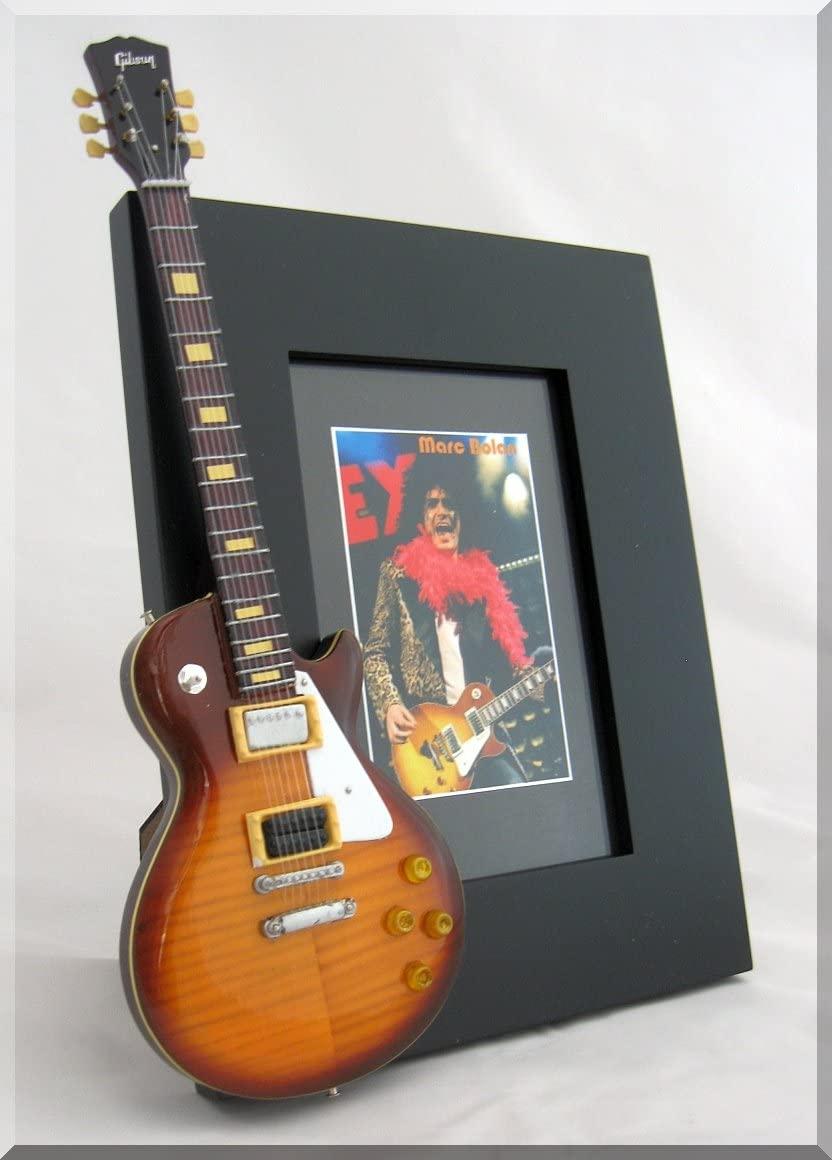 MARC BOLAN Miniature Guitar Photo Frame T-REX 2