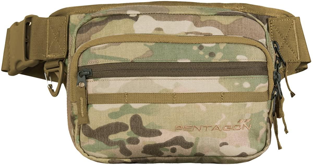 Pentagon Runner Concealment Pouch MultiCam