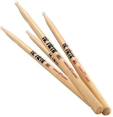 Vic Firth American Classic 5AN Nylon Tip Drum Sticks - 2 Pair