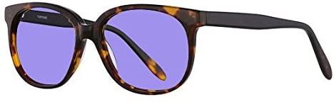 Sodium Flare Polycarbonate Lampworking Glasses in Genius Womens Plastic Frame - 54-17-145