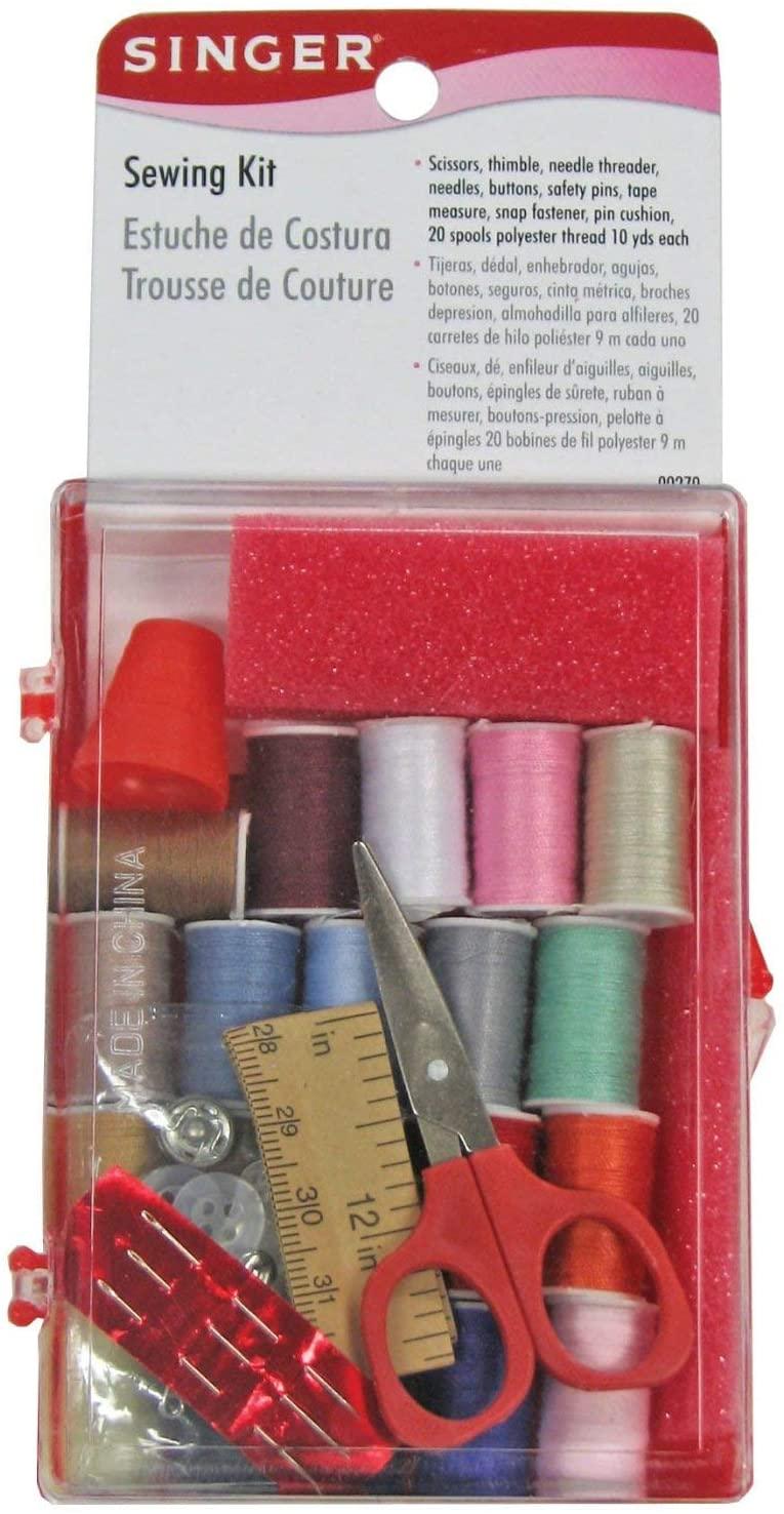 Singer Sewing Kit, 3-Pack