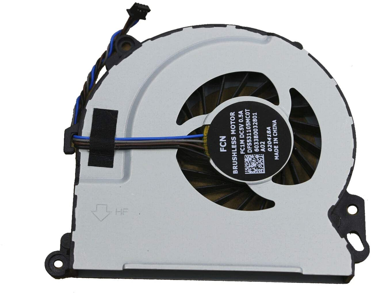 GIVWIZD Laptop Replacement CPU Cooling Fan for HP Envy 15-j063ei 15-j066ez 15-j075nr 15-j078ez 15-j084ca 15-j084nr 15-j015tx