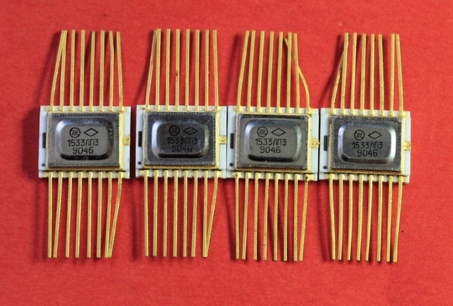 S.U.R. & R Tools 1533LP3 IC/Microchip USSR 2 pcs
