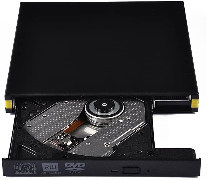 External CD Drive, USB 3.0 CD Burner External Slim DVD-RW/CD-RW Burner Optical Drive Support, for Window2000 / XP / 2003 / Vista / 7 Win 8 Linux Mac 10 Operating System