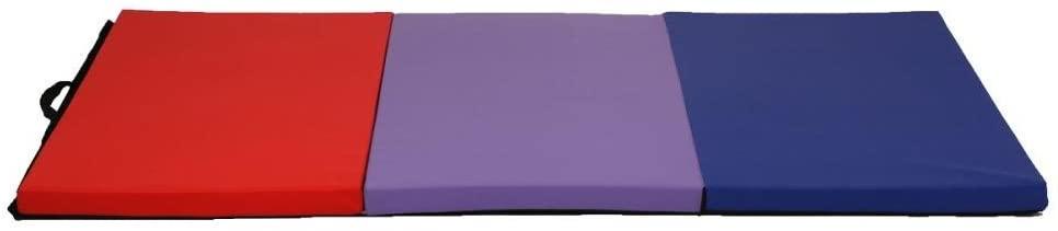 BestMassage Folding Gymnastics Gym Exercise Mats 4'x6' Stretching Yoga Mat