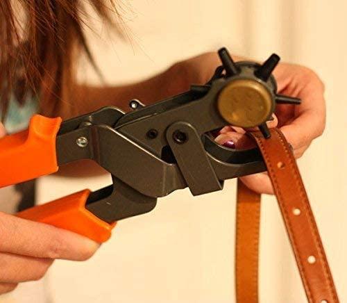 Tools Centre DIYCRAFTS-HEAVY DUTY CUT EYELET BAG REVOLELEATHER BELT HOLE PUNCH PUNCHER PLIERS