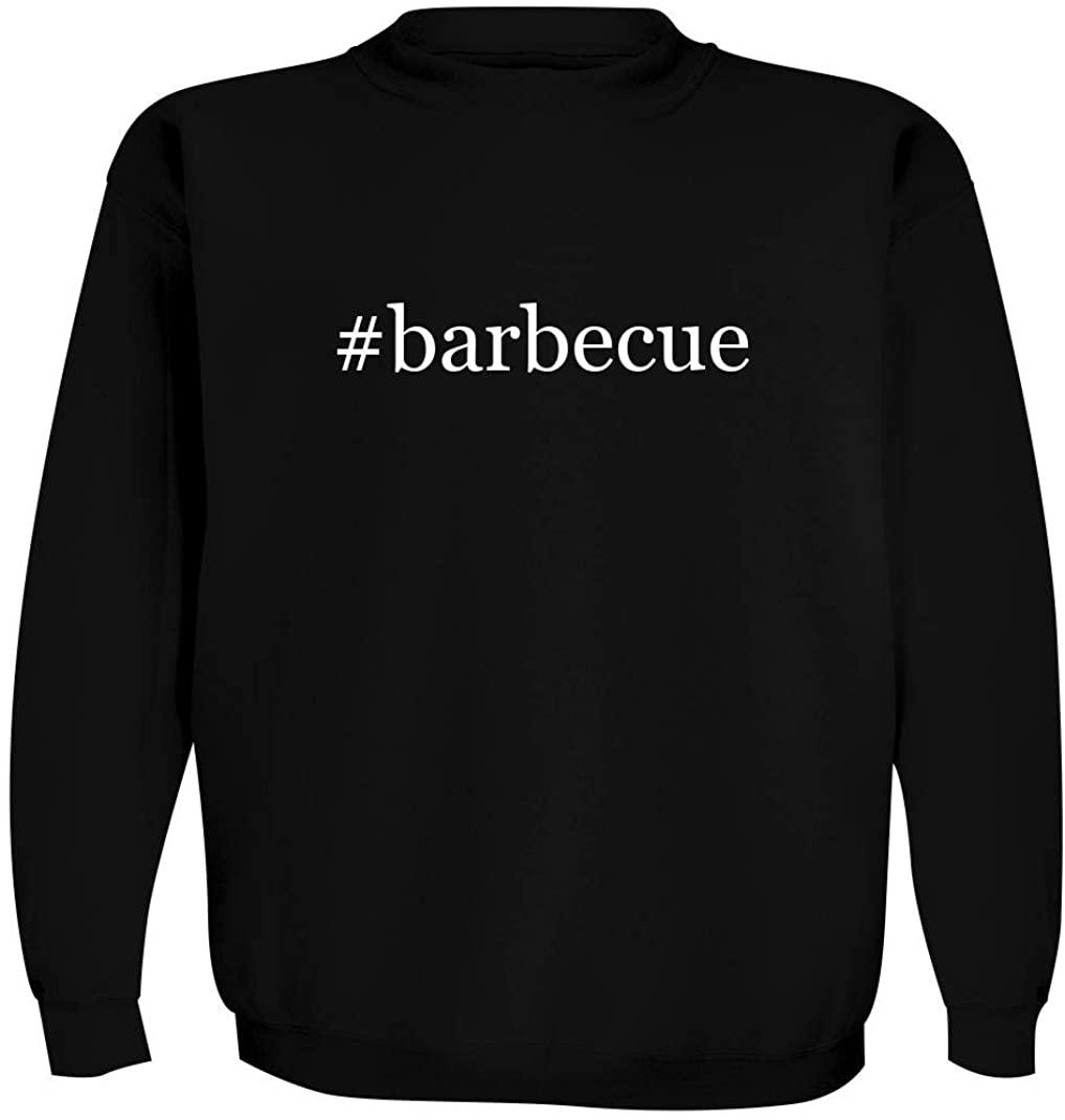 #barbecue - Men's Hashtag Crewneck Sweatshirt