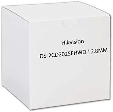 HIKVISION Outdoor Bullet, 2MP/1080p, H265+, 60fps, 2.8mm, Day/Night, DarkFighter, 120dB WDR, EXIR 2.0 (30m), IP67, PoE/12VDC / DS-2CD2025FHWD-I 2.8MM /