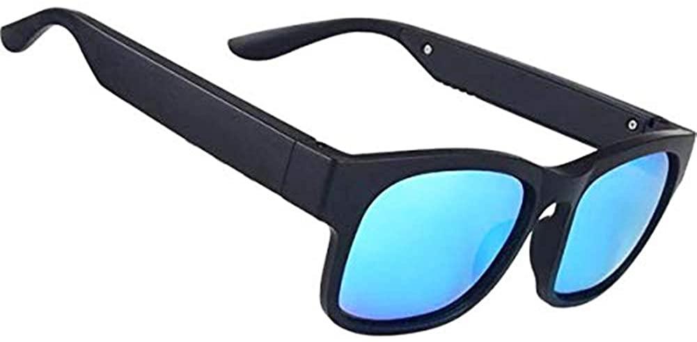 AOHOG Smart Audio Bluetooth Sunglasses Outdoor UV400 Polarized Wireless Music Headset Speaker Sunglass Men and Women