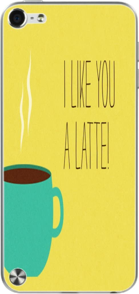 I Like You A Latte Fun with Coffee Vinyl Decal Sticker Skin for iPod Touch (5th Gen&2012)