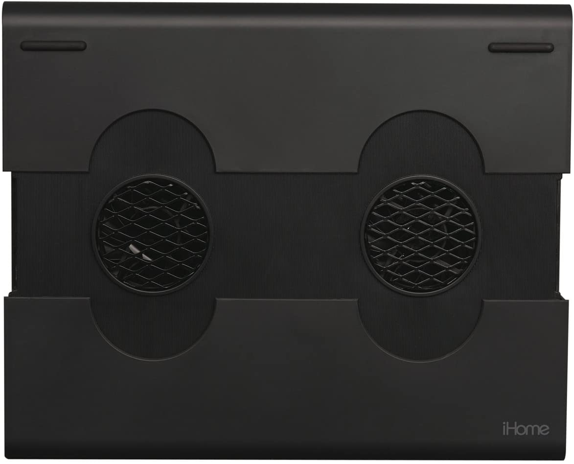 iHome  Notebook Cooling Pad with 2 Built in Fans - Black (IH-A700CB)