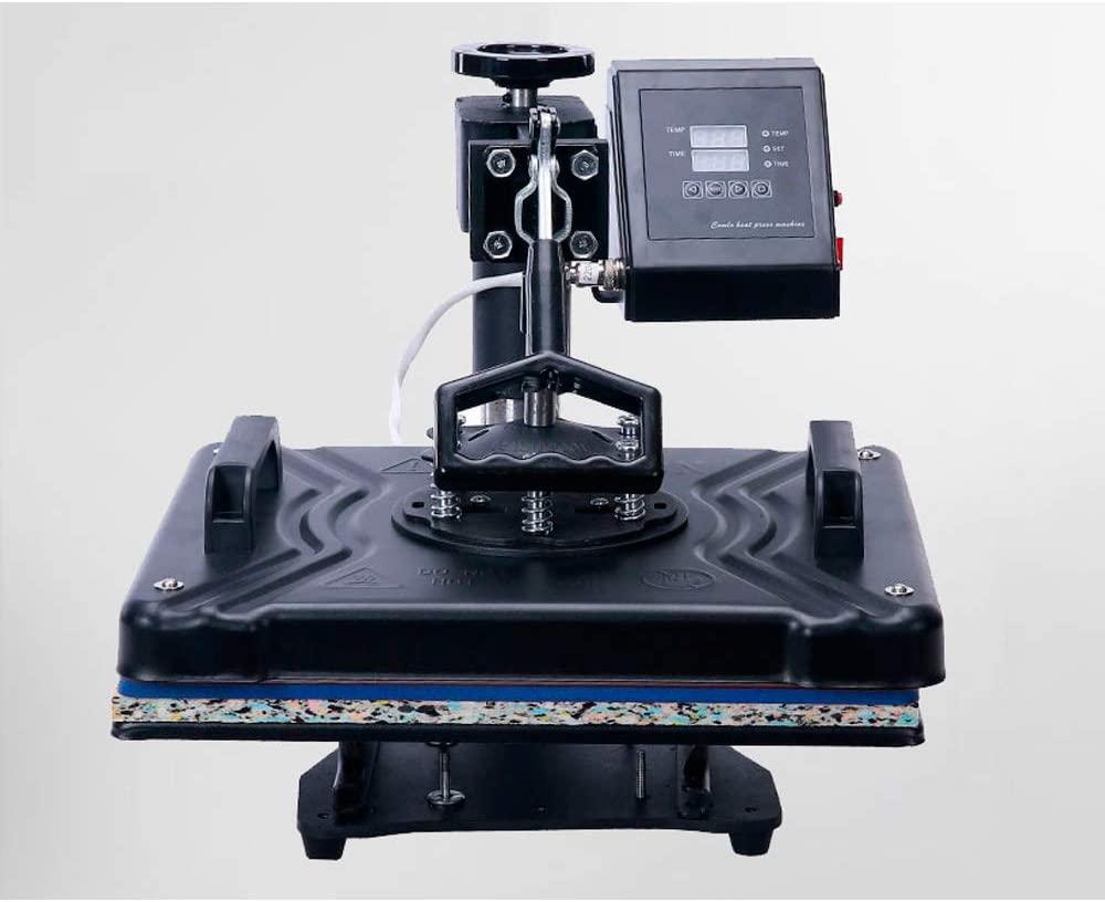 QWERTOUY 8 in 1 Heat Press Machine for Plate/Mug/Cap/Tshirt Etc, CE Multifunction Sublimation Heat Press/Heat Transfer Machine