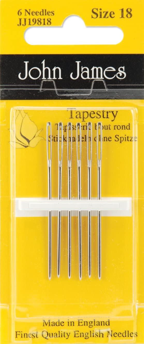 Tapestry Hand Needles-Size 18 6/Pkg
