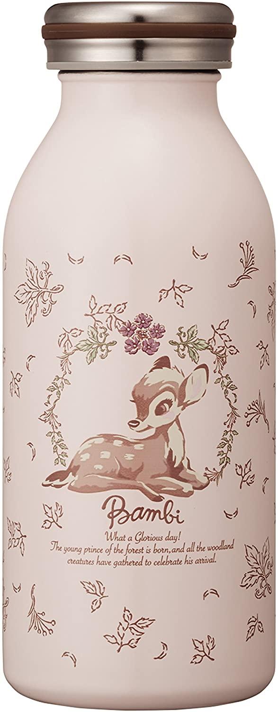 Water bottle vacuum insulation screw mug bottle 0.35L Bambi mosh! × Diseny (Mosh! × Disney)