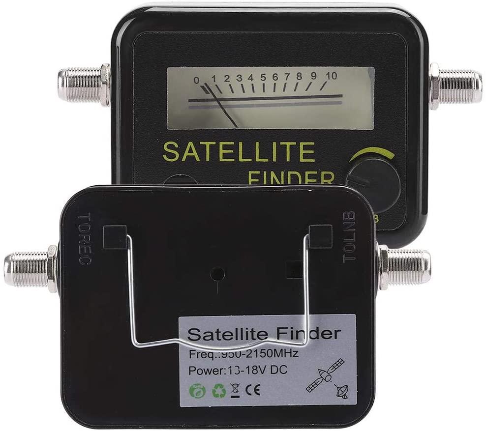Vbestlife Satellite Signal Finder, with Digital Screen, Satellite Finder, Small Size for Travel