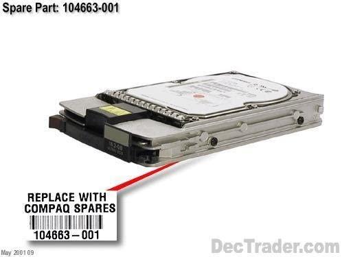 Compaq 104663-001 18.2 gb 7200rpm Wide Ultra2 SCSI