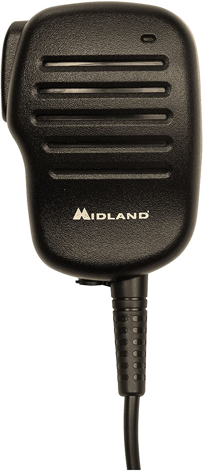 Midland Consumer Radio BA4 Shoulder Speaker Microphone for Business Portable Radio