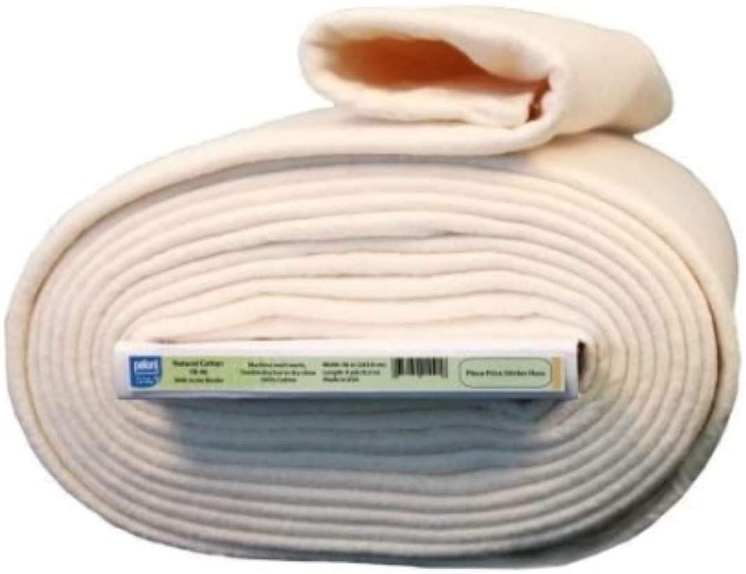 Batting Natural Warm Cotton Stabilizing Scrim Binder Quilt Rag 96 9 Yard Bolt