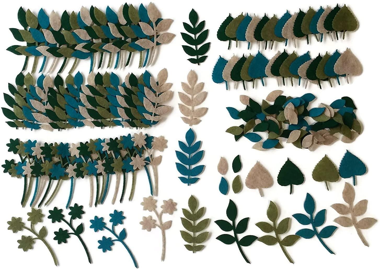 Felt Leaves by Wildflower Toys