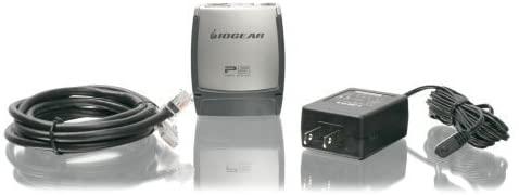 Iogear, Inc - Iogear Gpsu21 Print Server - 1 X 10/100Base-Tx Network, 1 X Usb 2.0 - 100Mbps