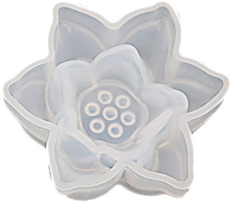 XIANSHI New 3D Large Lotus Flower Jewelry Making Epoxy Resin Molds Resin Casting Craft Tools, DIY Silicone Molds Making Craft Meaningful Handmade Works