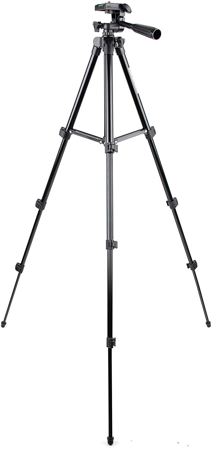 DURAGADGET Generic 1m Extendable Portable Tripod with Screw Mount - Compatible with ODRVM Action Cam