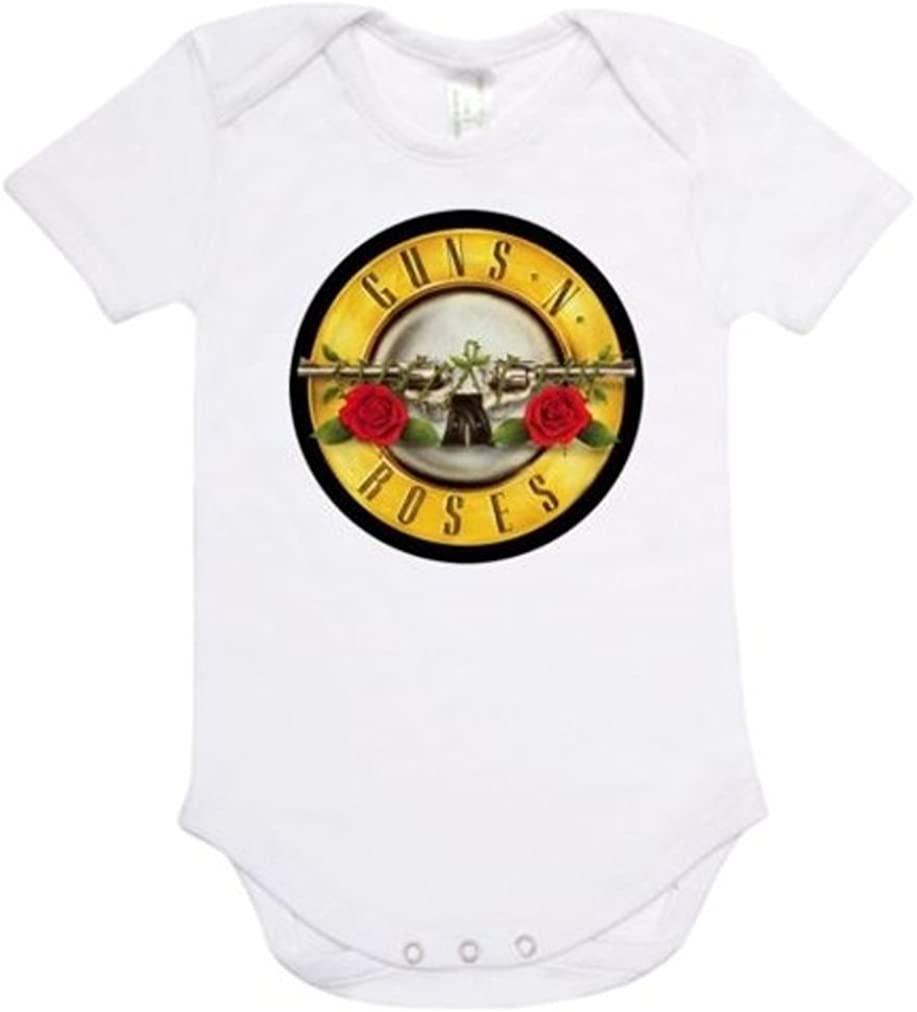 Rare New Guns N Roses Hard Rock Baby Funny Bodysuit Onesie Romper