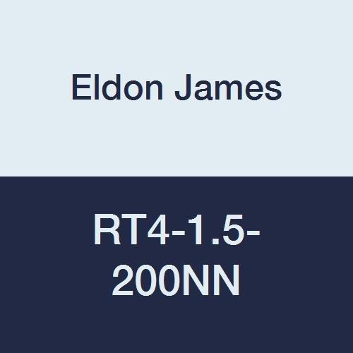 Eldon James RT4-1.5-200NN Natural Nylon Reduction Tee, 1/4