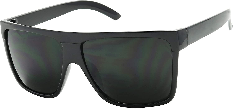 ShadyVEU Super Dark Round Sunglasses UV400 Casual Blacked Out 80's Retro Shades