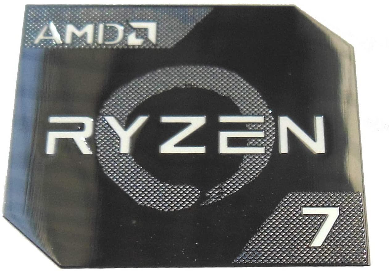 VATH Made Compatible AMD RYZEN 7 Metal Sticker 18 x 20mm / 11/16