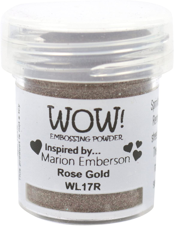 Wow Embossing Powder WL17R 15ml-Rose Gold