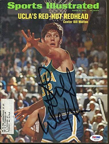 Bill Walton Signed Sports Illustrated Autographed UCLA PSA/DNA #T61437 - Autographed NBA Magazines