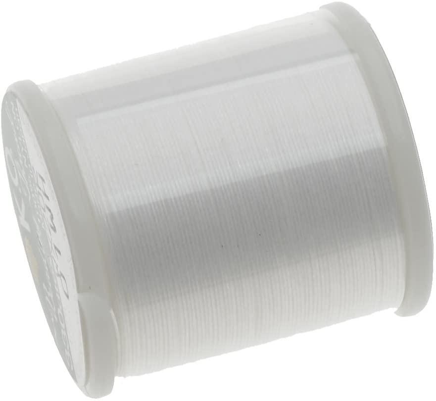 Japanese Nylon Beading Thread by KO for Delica Beads WHITE