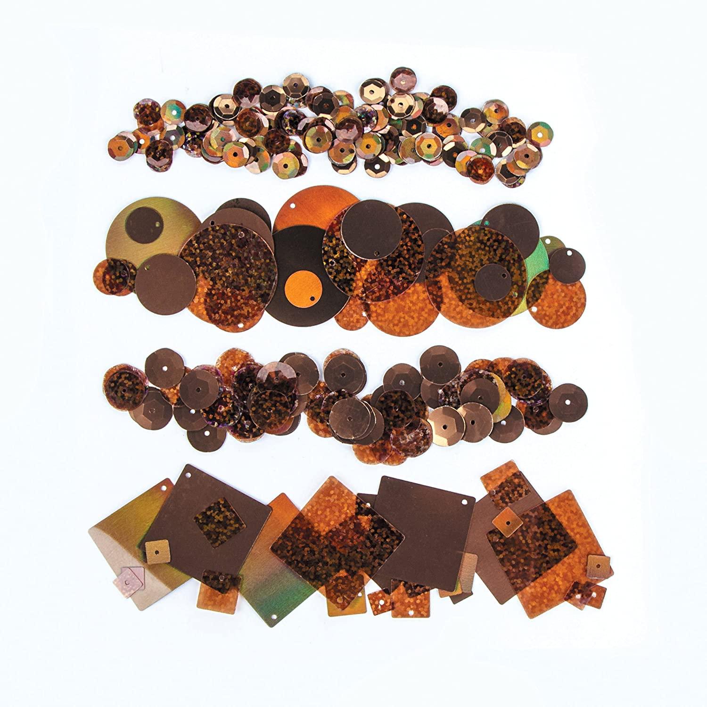 Darice SEQ136D Sequin Pack, Copper