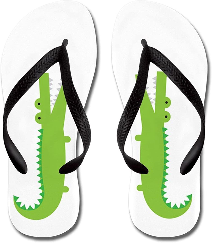 Lplpol Friendly Snowmen Sandals Flip Flops for Kids M with Black Flip Flops Belt