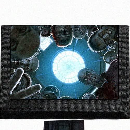 Zombies Black TriFold Nylon Wallet Great Gift Idea