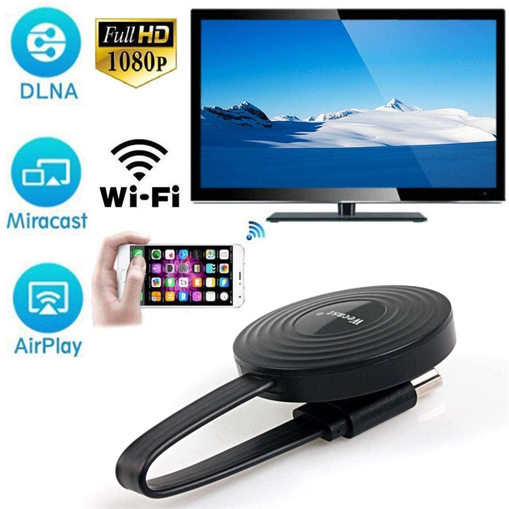 Redcolourful for Miracast/Airplay Mirroring/YouTube RK3036 Airplay Phone Wireless Display Mirroring Device WiFi HDMI TV Dongle Support DLNA