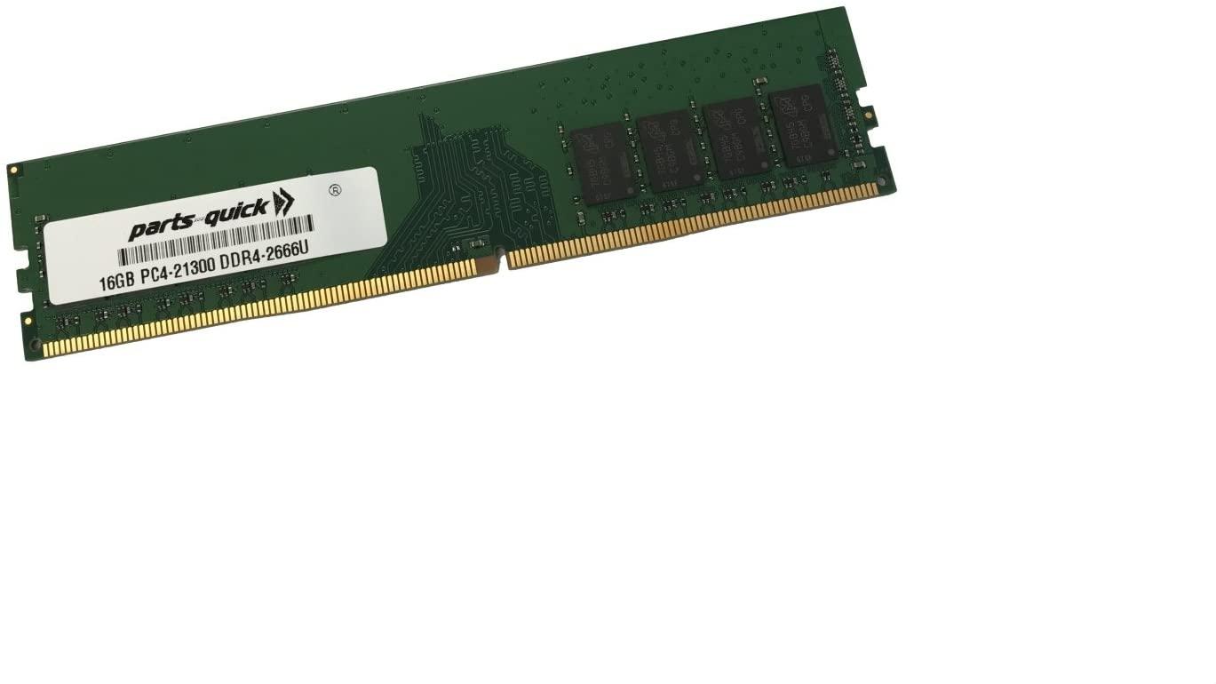 16GB Memory Upgrade for Dell Precision Workstation 3630 T3630 2RX8 DDR4 Non-ECC UDIMM 2666MHz (PARTS-QUICK Brand)