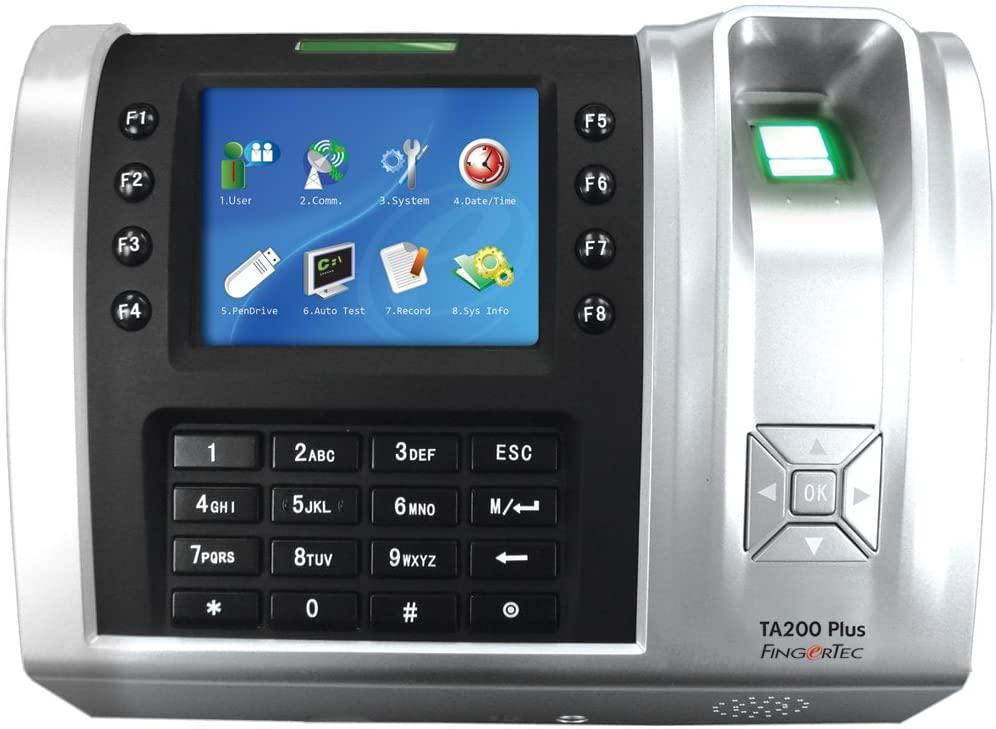 FingerTec USA TA200 Plus W FingerTec Time AttendanceTA200 Plus Fingerprint plus RFID Time Clock Wireless