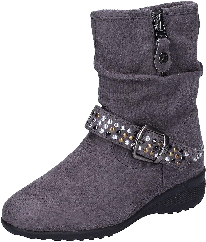 LULU' Boots Baby-Girls Suede Grey