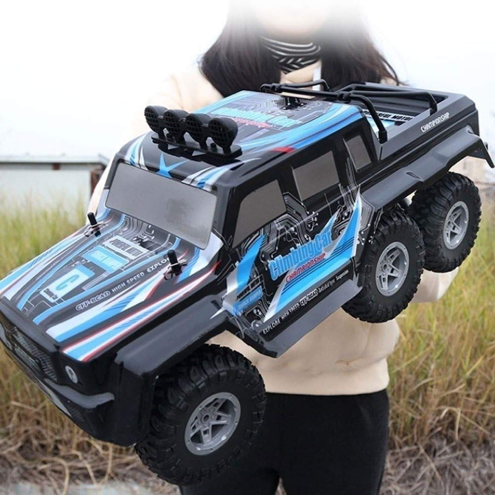 PCARM Large Remote Control Car 1:12 Scale Alloy Frame RC Cars 6WD 2.4Ghz RC Monster Truck Rechargeable High Speed Remote Control Buggy Vehicle Radio Controlled Hobby Car Toy Gift for Kids and Adults