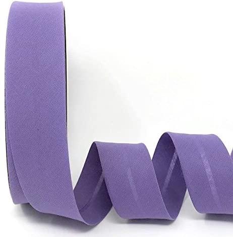 Byetsa Lavender 30mm Polycotton Bias Tape on a 25m Roll