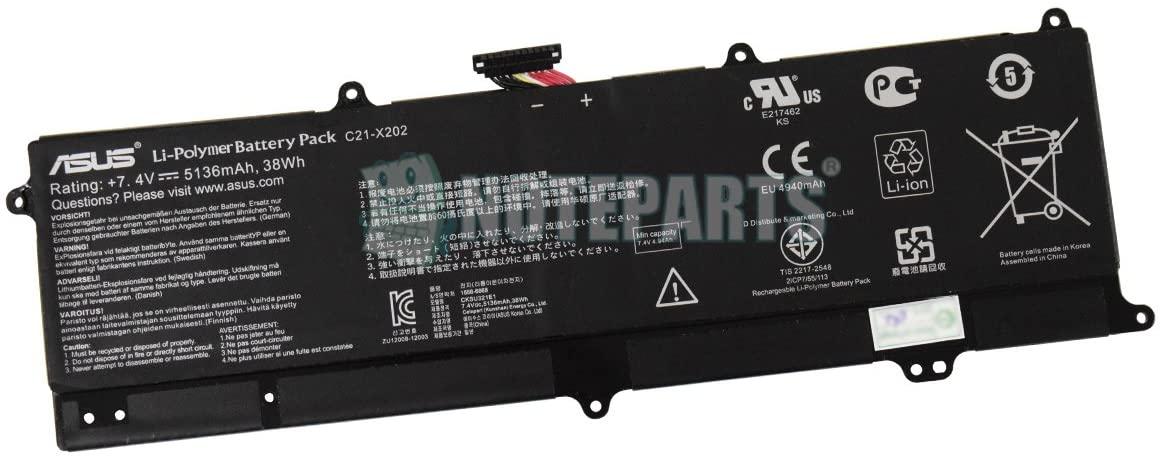 C21-X202 ASUS OEM Battery