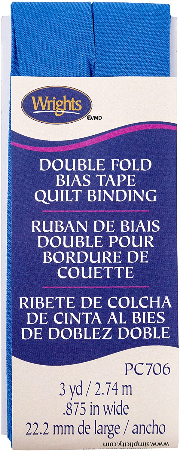 Wrights Royal Double Fold Quilt Binding 7/8
