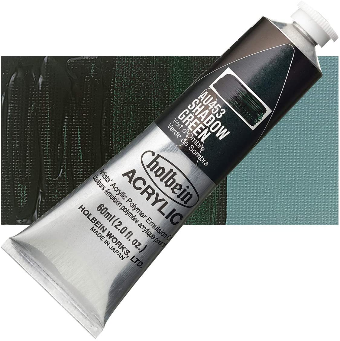 Holbein - Artist Heavy Body Acrylic - 60ml Tube - Shadow Green