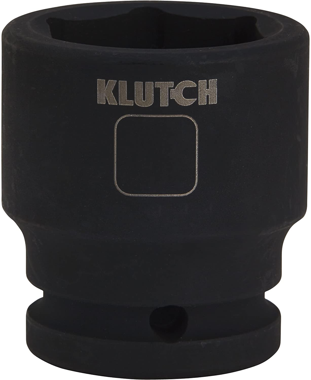 Klutch Jumbo Impact Socket - 1 3/16in. 3/4in.-Drive