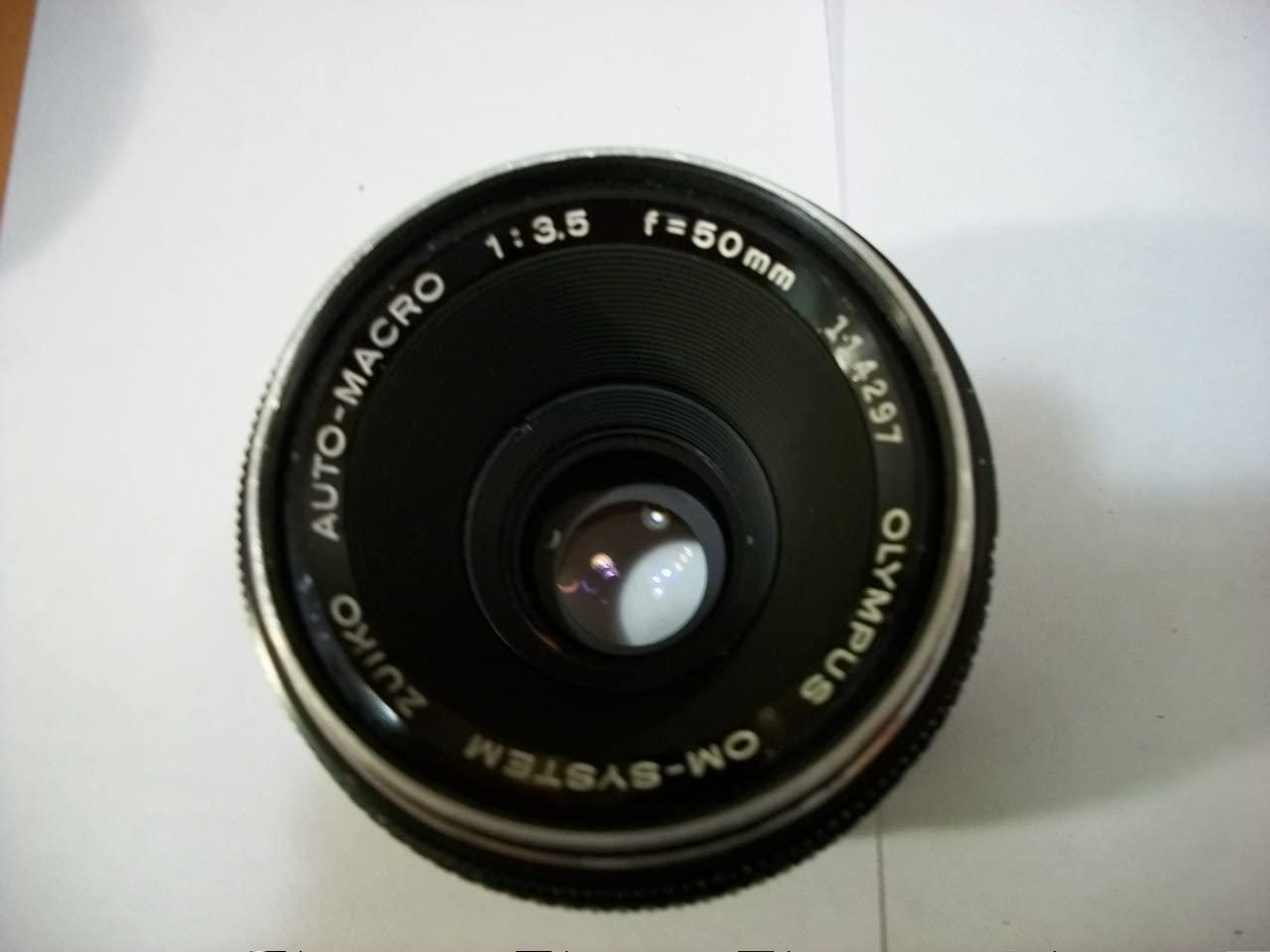 Olympus 50mm f3.5 OM-System Zuiko Auto-Macro