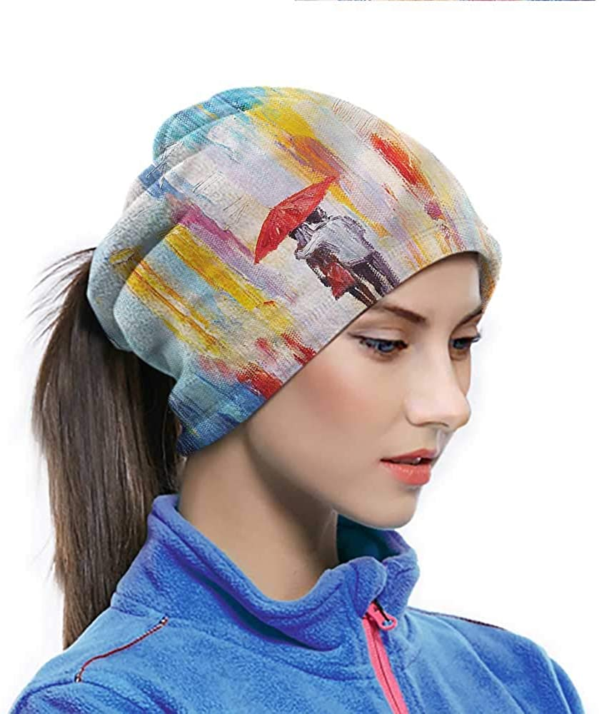 Hairwraps Urban, Painting Effect Romance Multi-purpose Face Cover Lightweight, Windproof and Breathable 10 x 11.6 Inch